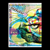 THE MELVINS : JUXTAPOZ GROUP SHOW - left side