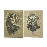 Wheat Face & Poppy Skull - Handbill