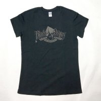 BLACK OSPREY (Gocco graphic) LADIES' SHIRT