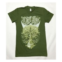 BLACK OSPREY (Twin Osprey) LADIES' SHIRT - GREEN COLORWAY