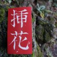 Kanji title sticker