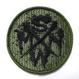 Photo2: SWMN VELCRO WAPPEN - Olive Drab (2)