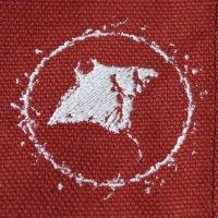 OSPREY SPLASH NOTEBOOK BAG - WHITE x RUBY RED SLATE