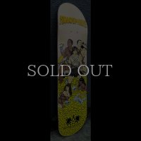 Atmosphere : Paint The Nation Gold Tour Skateboard Deck